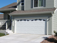 Residential Steel Garage Doors